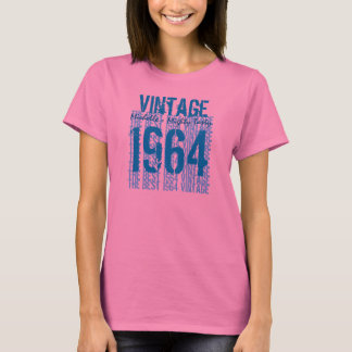 1964 Vintage Year 50th Custom Name Mighty Tasty T-Shirt