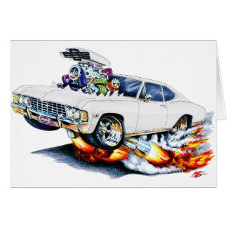 1965-66 Impala White Car Card