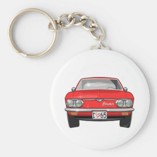 1965 Chevrolet Corvair Front View Key Ring