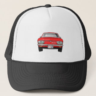 1965 Chevrolet Corvair Front View Trucker Hat