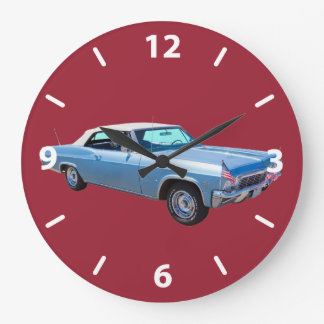 1965 Chevy Impala 327 Convertible Large Clock