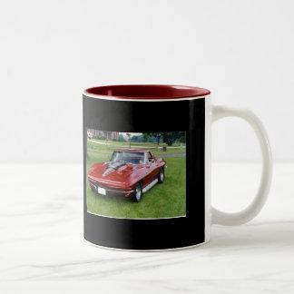 1965 Corvette Stingray Two-Tone Coffee Mug