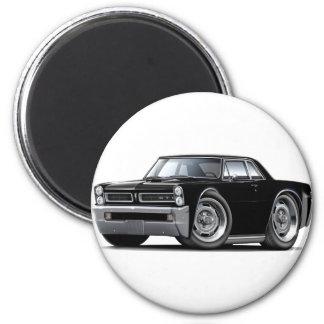 1965 GTO Black Car Magnet