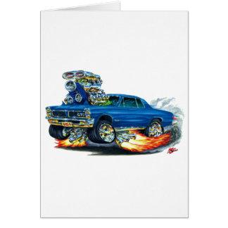 1965 GTO Blue Car Card