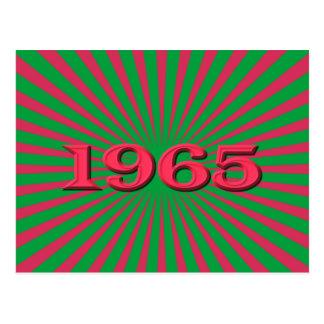 1965 POSTCARD
