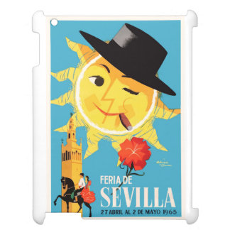 1965 Seville Spain April Fair Poster iPad Cover