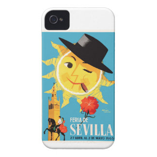 1965 Seville Spain April Fair Poster iPhone 4 Covers