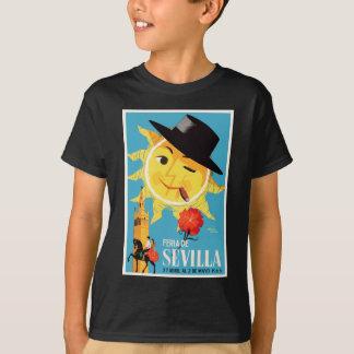 1965 Seville Spain April Fair Poster T-Shirt