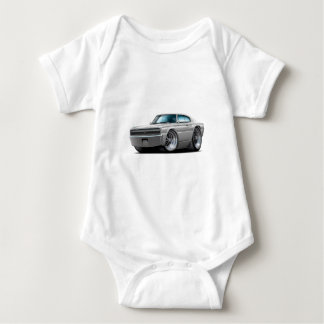 1966-67 Charger Silver Car Baby Bodysuit