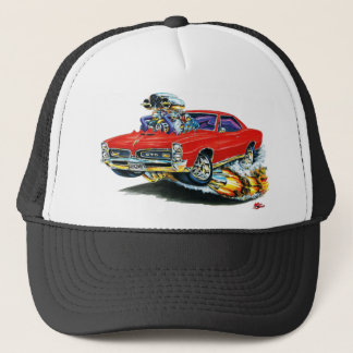 1966-67 GTO Red Car Trucker Hat