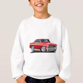 1966-67 Nova Red Car Sweatshirt