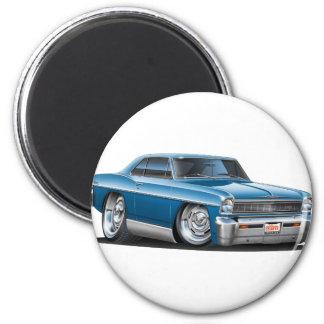 1966-67 Nova Teal Car Magnet