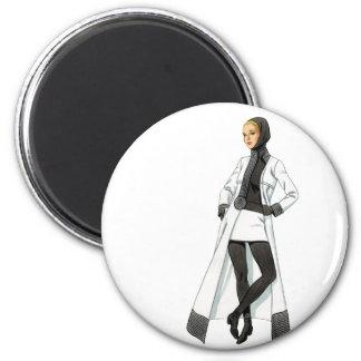 1966 Cardin Fashion Magnet