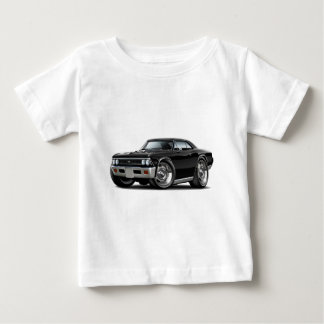 1966 Chevelle Black Car Baby T-Shirt