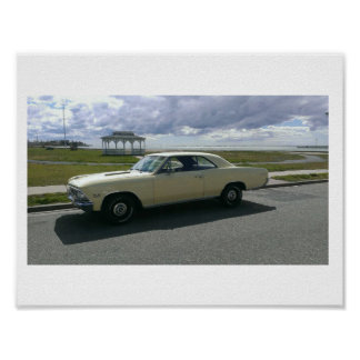 1966 CHEVELLE SS 396 POSTER
