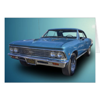 1966 CHEVROLET CHEVELLE SS CARD