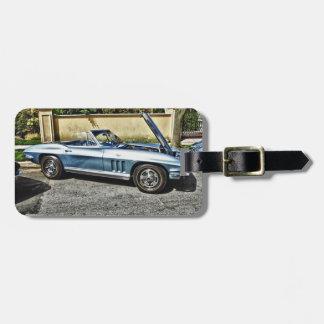 1966 Chevrolet Corvette Luggage Tag
