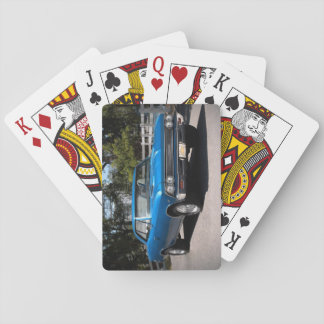 1966 Chevy Chevelle Big Block Muscle Car Playing Cards