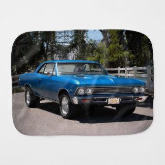 1966 Chevy Chevelle Malibu Chevrolet Muscle Car Burp Cloth