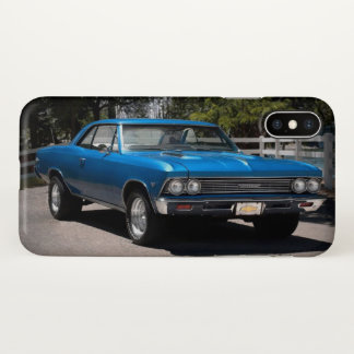 1966 Chevy Chevelle Malibu Chevrolet Muscle Car iPhone X Case