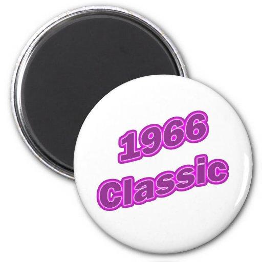 1966 Classic Purple Refrigerator Magnet