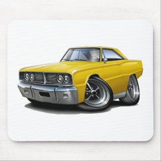 1966 Coronet Yellow Car Mouse Pad