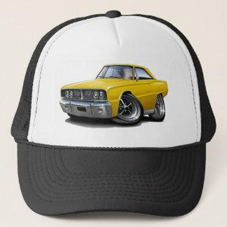 1966 Coronet Yellow Car Trucker Hat