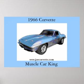 1966 Corvette Poster