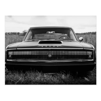 1966 Dodge Charger Muscle Car Postcard