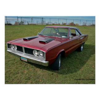 1966 Dodge Coronet Poster