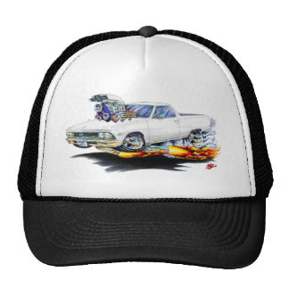 1966 El Camino White Truck Cap