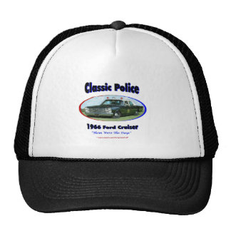 1966 Ford Police Cruiser Trucker Hats