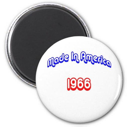 1966 Made In America Fridge Magnet