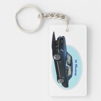 1966 Mustang key chain
