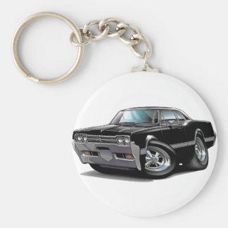 1966 Olds Cutlass Black Car Key Ring