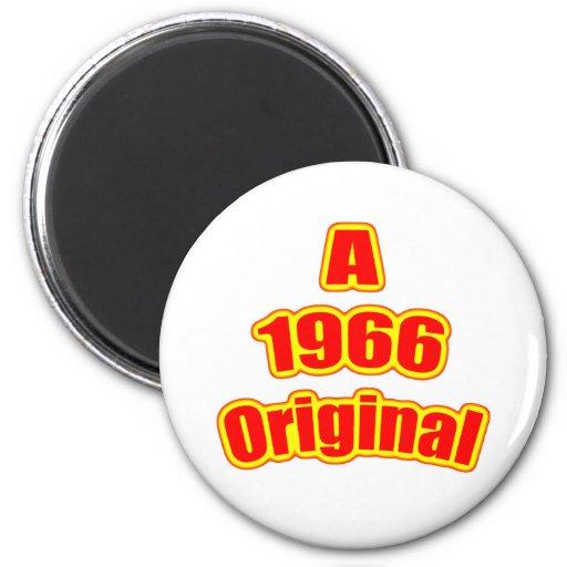 1966 Original Red Fridge Magnets