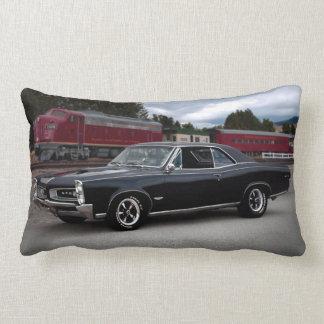 1966 Pontiac GTO Muscle Car Locomotive Train Lumbar Cushion