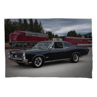 1966 Pontiac GTO Muscle Car Locomotive Train Pillowcase