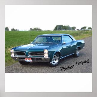 1966 Pontiac Tempest Poster