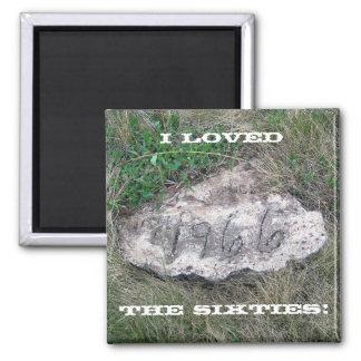 1966 Rock Magnet