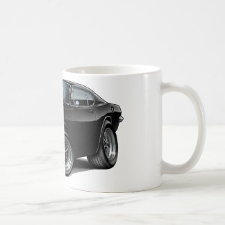 1967-69 Barracuda Black Car Coffee Mug