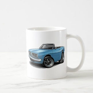 1967-69 Barracuda Lt Blue Convertible Coffee Mug