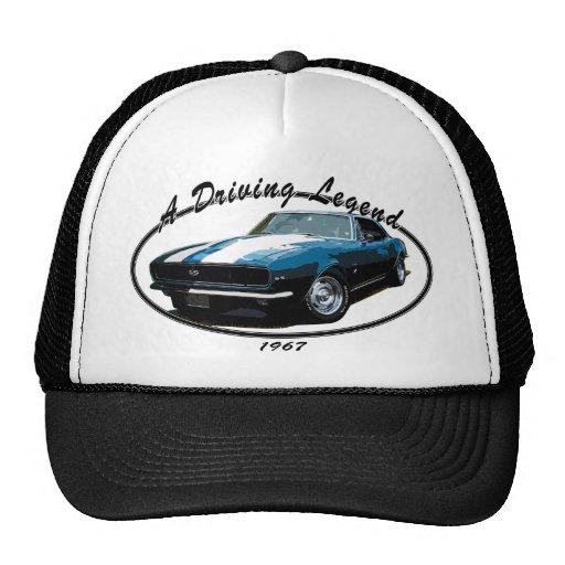 1967 CAMARO RS SS BLUE MESH HAT