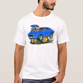 1967 Camaro SS Blue Car T-Shirt