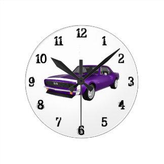 1967 Camaro SS: Wall Clock