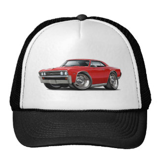 1967 Chevelle Red Car Cap