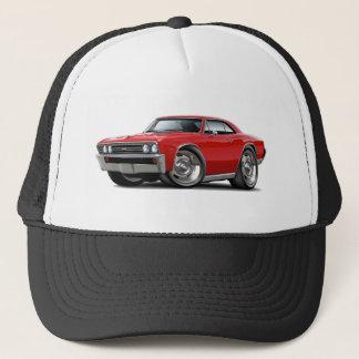 1967 Chevelle Red Car Trucker Hat