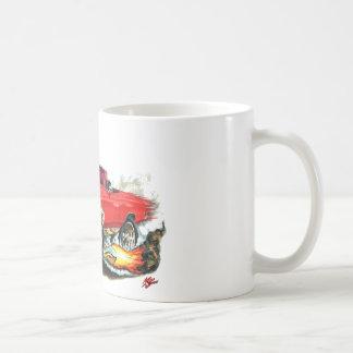 1967 Chevelle Red Convertible Coffee Mug