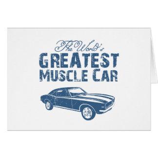 1967 Chevrolet Camaro SS 396 Card
