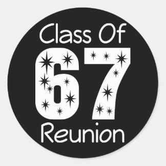1967 Class Reunion Stickers